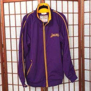 Mitchell & Ness Lakers jacket